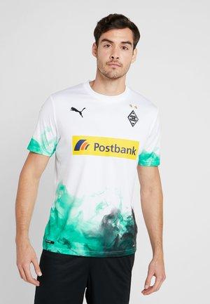BORUSSIA MÖNCHENGLADBACH HOME REPLICA WITH SPONSOR - Vereinsmannschaften - white