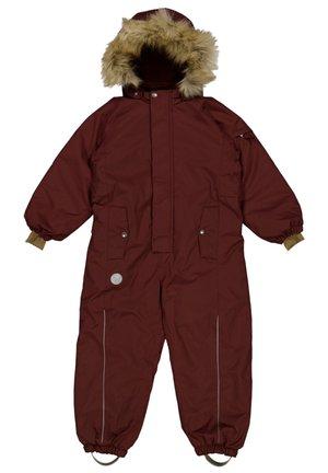 SNOWSUIT MOE TECH - Snowsuit - maroon