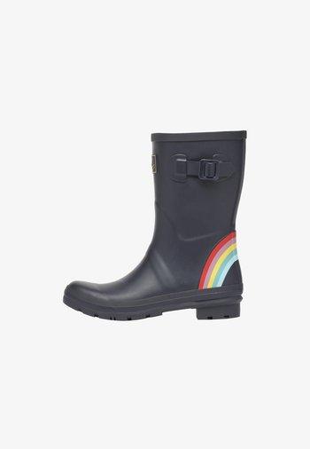 WELLY - Kalosze - navy rainbow