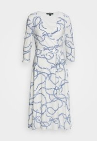 Lauren Ralph Lauren - PRINTED MATTE DRESS - Žerzejové šaty - colonial cream - 7