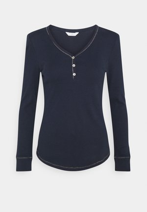 PYJAMA TOP LONGSLEEVE - Pyjama top - navy