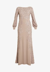 Maya Deluxe - FLORAL EMBELLISHED MAXI DRESS WITH BISHOP SLEEVES - Galajurk - pale mauve - 4