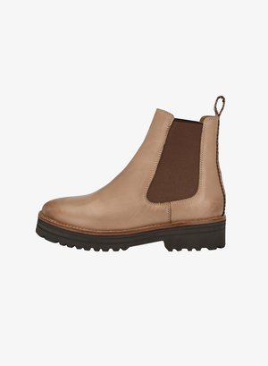 VANESSA - Ankle boots - helltaupe