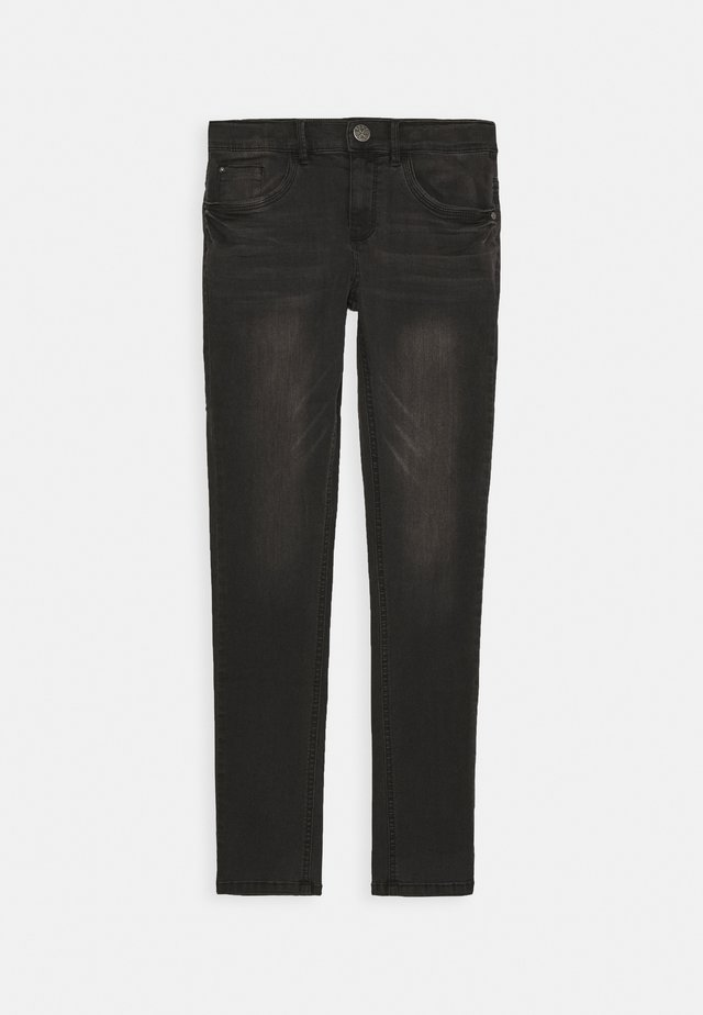 SKINNY  - Jeansy Skinny Fit - black used
