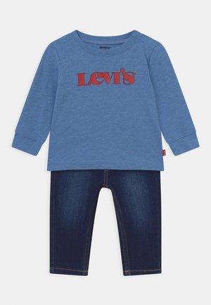 SET - Slim fit jeans - ultramarine heather