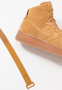 Nike Sportswear - AIR FORCE 1  - High-top trainers - wheat/light brown - 6
