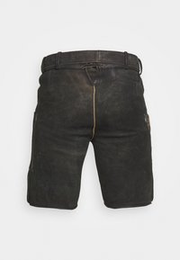 Stockerpoint - THOMAS - Kožené kalhoty - graphit vintage - 1