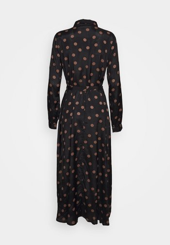 OLINE DRESS - Shirt dress - black