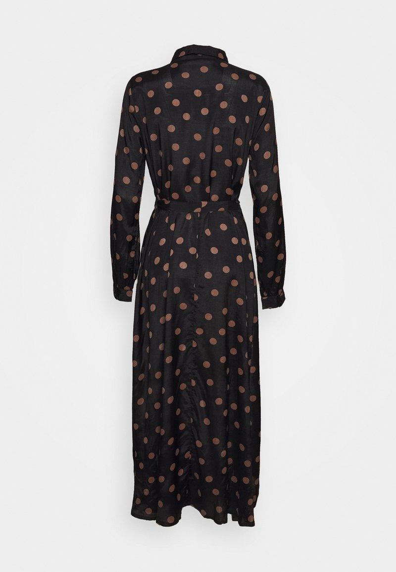 Kaffe - OLINE DRESS - Košilové šaty - black