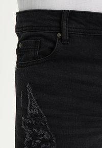 Brave Soul - ELBA - Jeans Skinny Fit - charcoal grey - 3