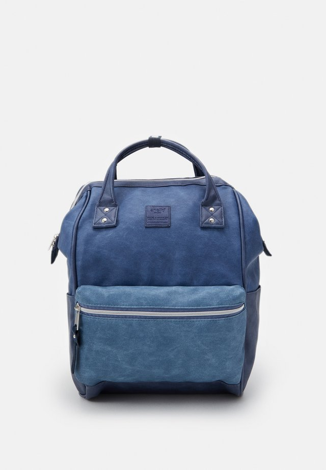 TOTE BACKPACK UNISEX - Zaino - denim blue