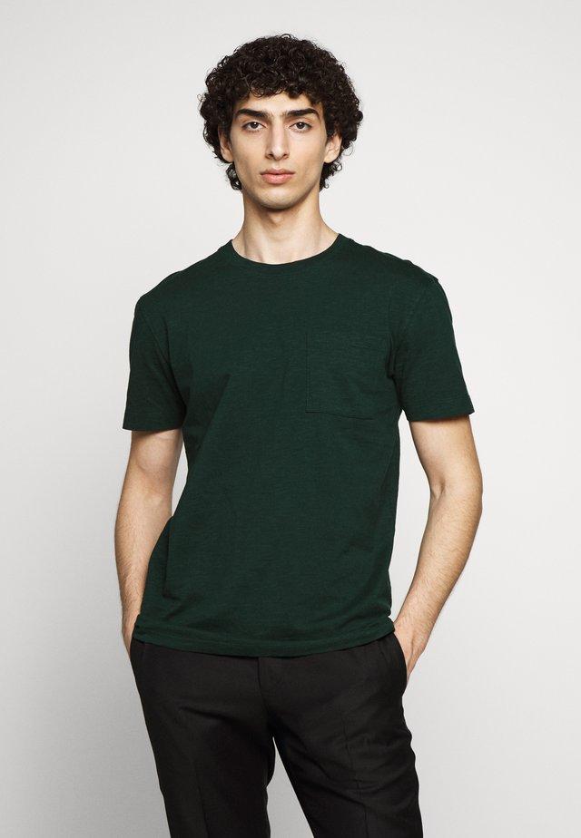 SCOLT - Jednoduché triko - olive