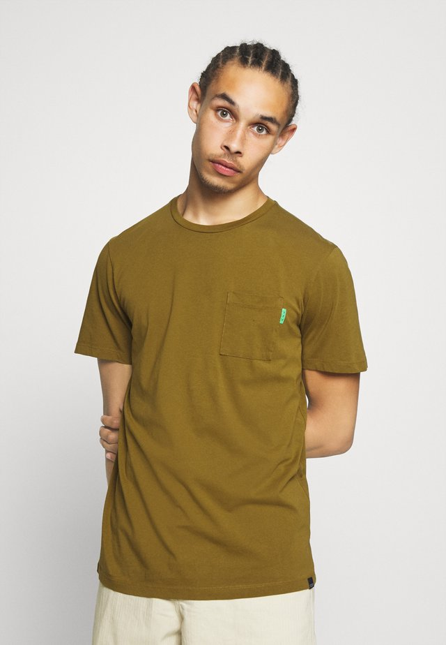 Camiseta básica - military green