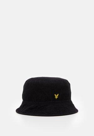 BUCKET HAT - Klobouk - true black