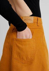 Monki - MARY SKIRT - A-line skirt - tobacco - 5