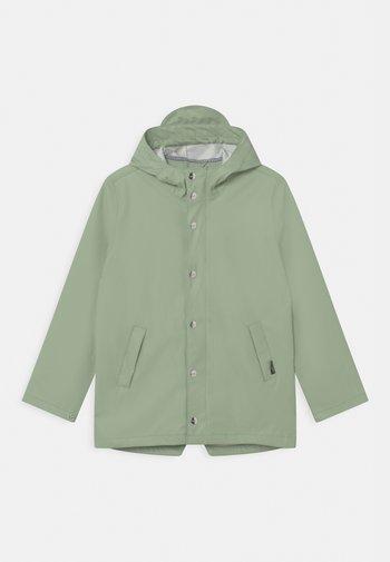ELEPHANT MAN UNISEX - Waterproof jacket - laurel green