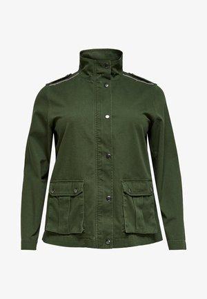 Denim jacket - forest night