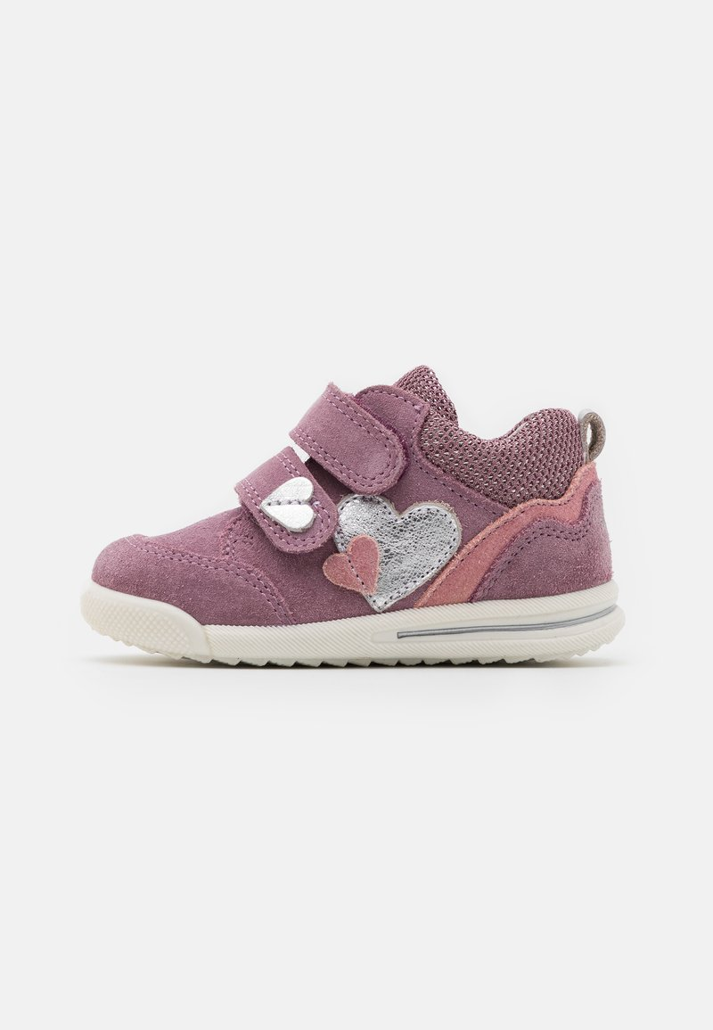 Superfit - AVRILE MINI - Touch-strap shoes - lila/rosa