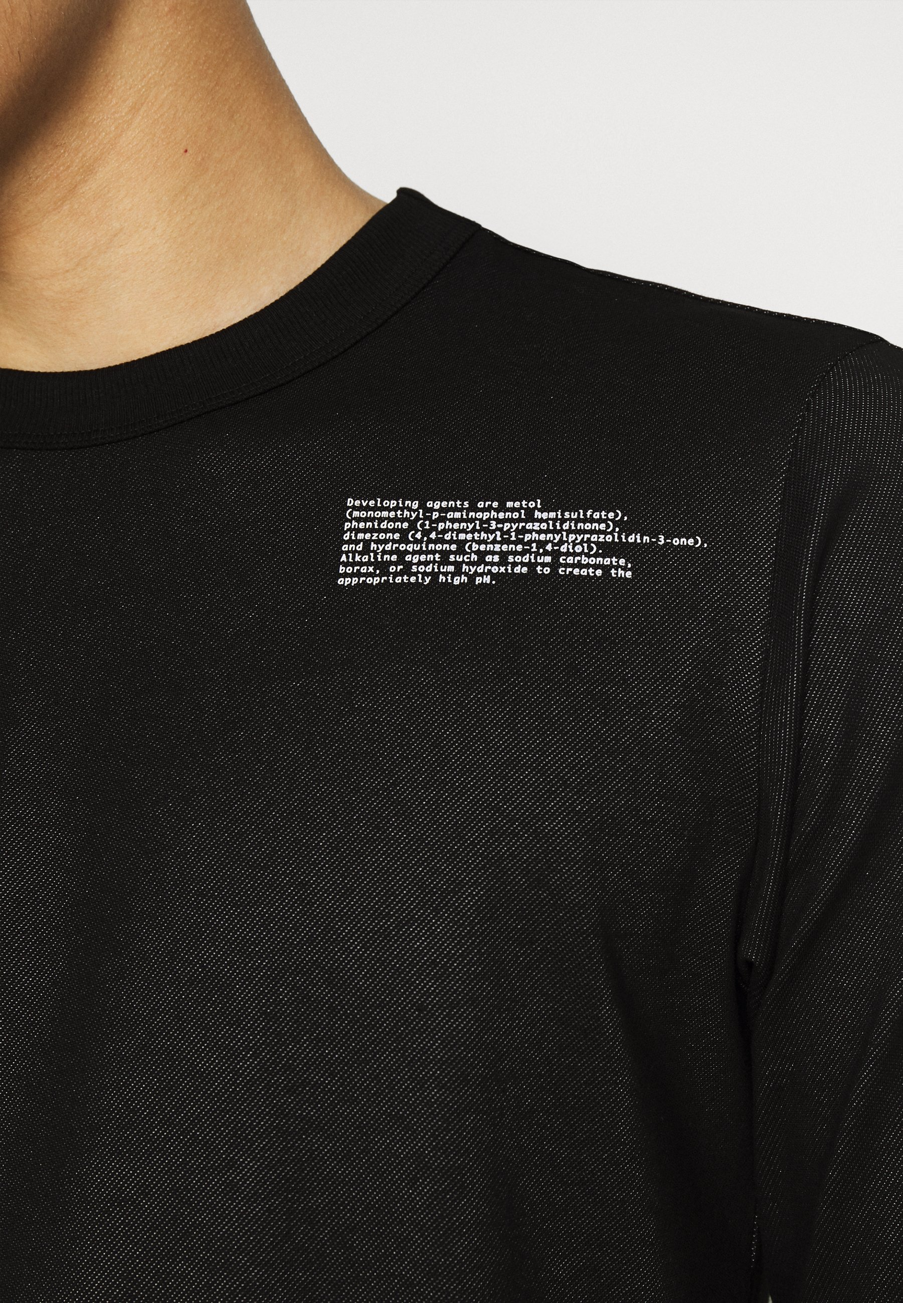 Uomo TEXT TWEETER - Maglietta a manica lunga