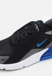 Nike Sportswear - AIR MAX 270  - Tenisky - black/game royal/iron grey/white - 5