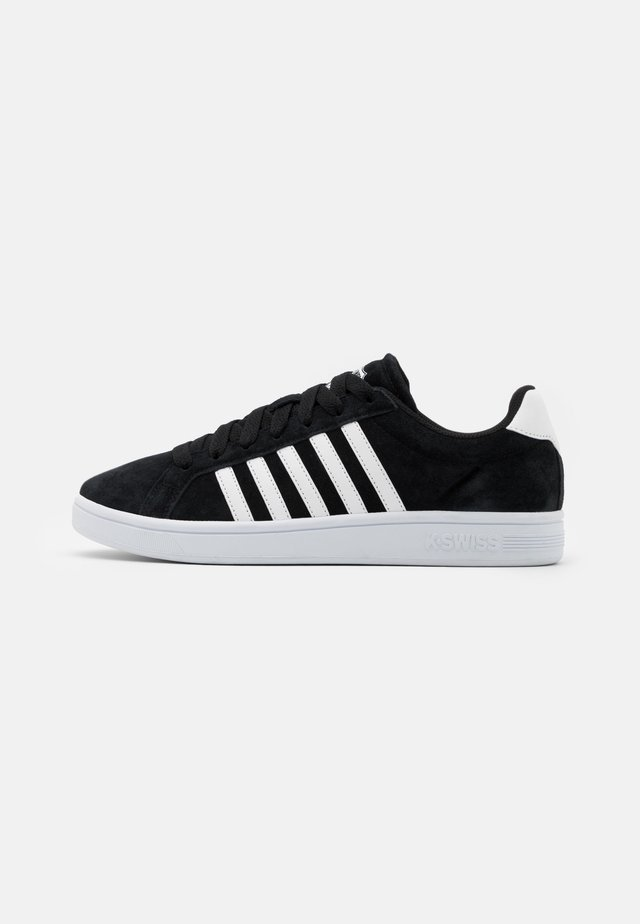 COURT TIEBREAK - Sneakers laag - black/white