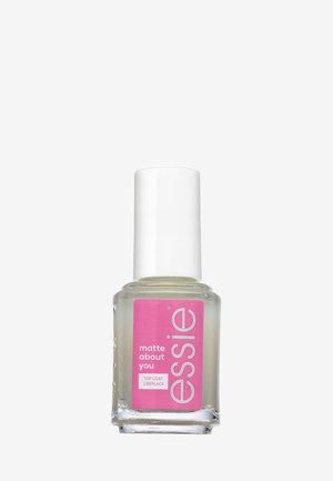 TOP COAT - Nail polish (top coat) - matte about you