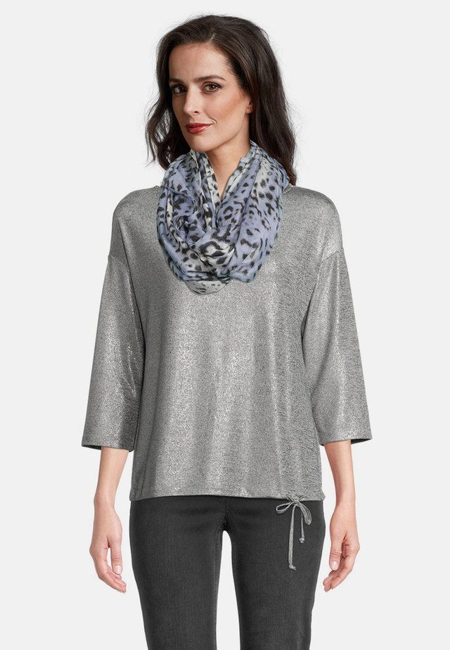 Scarf - grey/blue