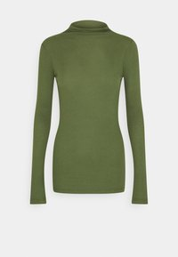 Marc O'Polo DENIM - LONGSLEEVE TURTLENECK - Long sleeved top - utility olive - 0