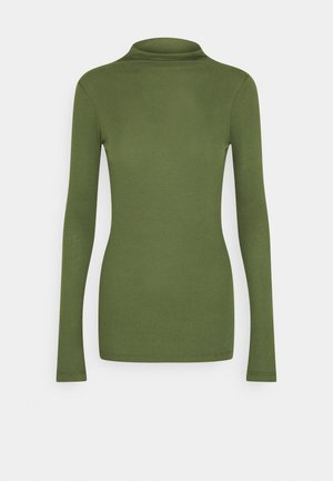 LONGSLEEVE TURTLENECK - Long sleeved top - utility olive