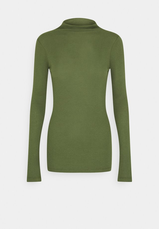 LONGSLEEVE TURTLENECK - Long sleeved top - utility olive