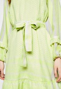 CECILIE copenhagen - LIV - Day dress - avocado green - 5