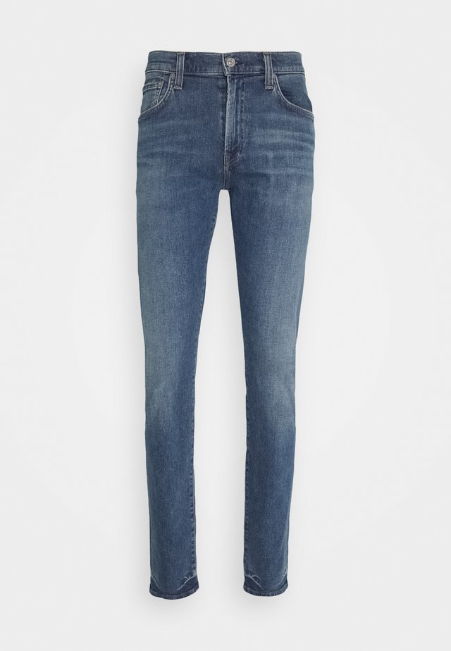 LONDON - Jeans Tapered Fit - deep lake