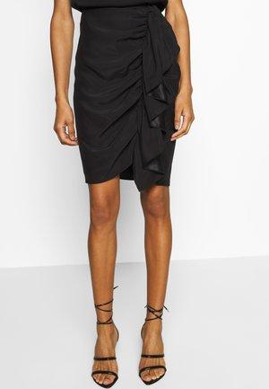 SPICE SKIRT - Pencil skirt - black