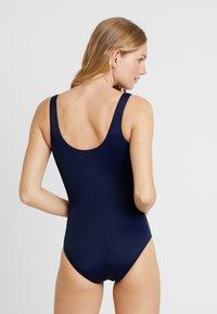 Zoggs - METALLIX SCOOPBACK - Swimsuit - multi/navy - 2