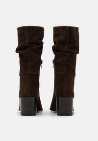 Steven New York - JANE - Vysoká obuv - cognac - 3