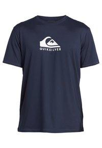Quiksilver - QUIKSILVER™ SOLID STREAK - KURZÄRMLIGES SURF-T-SHIRT MIT UPF 50  - Camiseta de lycra/neopreno - navy blazer - 0