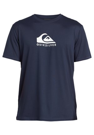 QUIKSILVER™ SOLID STREAK - KURZÄRMLIGES SURF-T-SHIRT MIT UPF 50  - Camiseta de lycra/neopreno - navy blazer