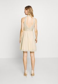 Lace & Beads - ABELLE SKATER - Vestido de cóctel - cream - 2