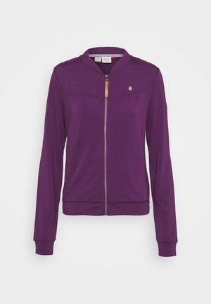 KENIA - Hettejakke - purple