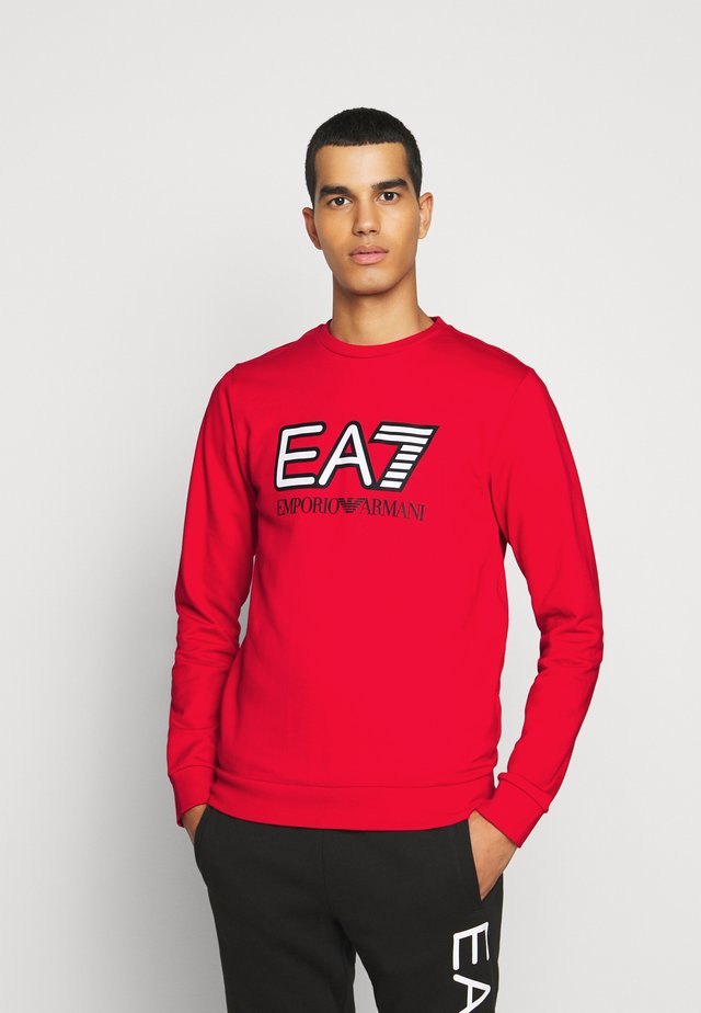 Sweatshirt - racing red