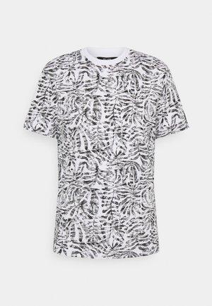 ONSADRIEL LIFE TEE - T-shirt print - white