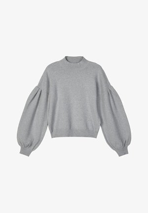 Jumper - light grey melange