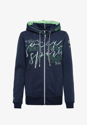 Zip-up sweatshirt - nautic navy