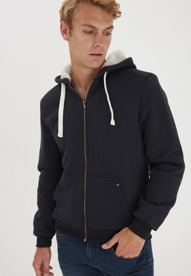 veste en sweat zippée - dark navy