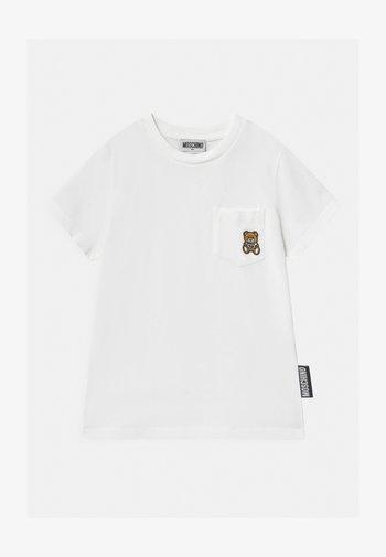 UNISEX - Print T-shirt - optic white