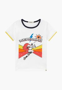 Billybandit - Print T-shirt - white/yellow - 0