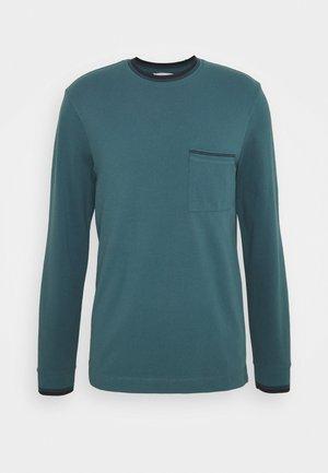 CREW - Long sleeved top - teal