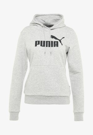 ESS LOGO HOODY  - Sweat à capuche - light gray heather