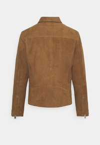 Selected Homme - Giacca di pelle - rubber - 7