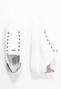 KARL LAGERFELD - KAPRI MAISON LACE - Sneaker low - white/silver - 3